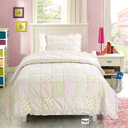 Patchwork Quilt Bedding Sets.Amazon Com Onitiva Fairy Tales World 100 Hypoallergenic