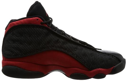 buy popular c12aa 0a6d1 Amazon.com   AIR Jordan 13 Retro  BRED  - 414571-004   Basketball