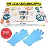 Bubble Glove: Best Kids Nitrile Gloves (Latex Free, Powder Free, odorless, Food Safe) - Prevent Skin Allergy or…