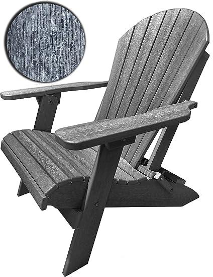 Surprising Duraweather Poly Classic King Size Folding Adirondack Chair Driftwood Grey Creativecarmelina Interior Chair Design Creativecarmelinacom