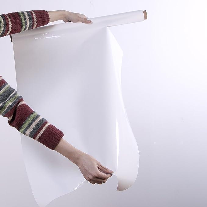 Lavagna bianca autoadesiva grande lavagna bianca carta da parati carta da parati magica foglio appiccicoso rotolo lavagna