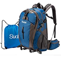 Deals on Sucipi Waterproof Lightweight Hiking Bag 40L Large