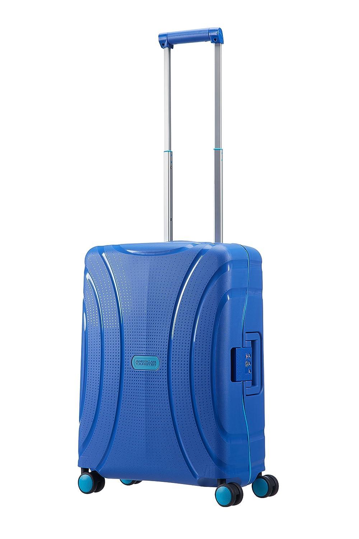 Valise rigide American Tourister Lock'n'Roll 69 cm Skydiver Blue bleu NibOv1V