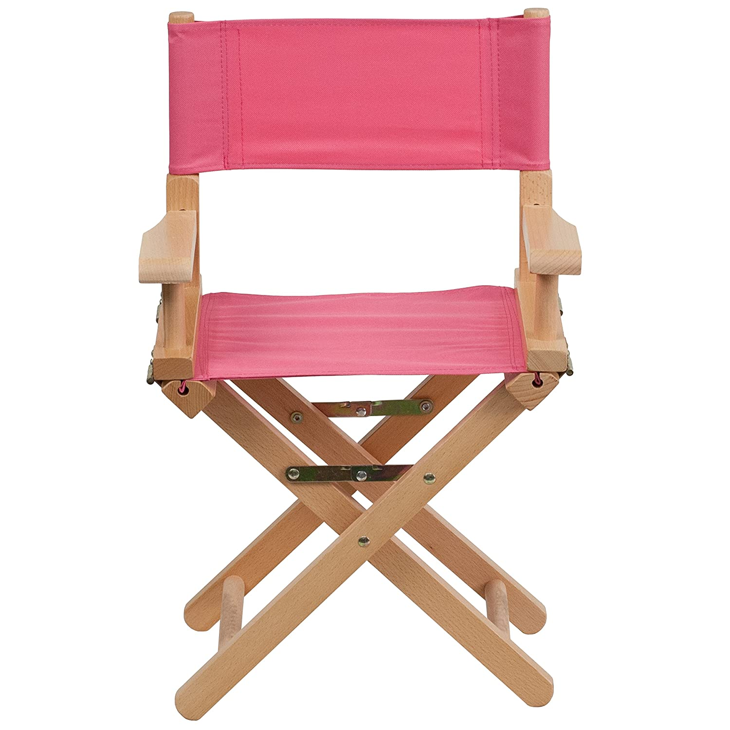 Amazon Flash Furniture Kid Size Directors Chair in Pink