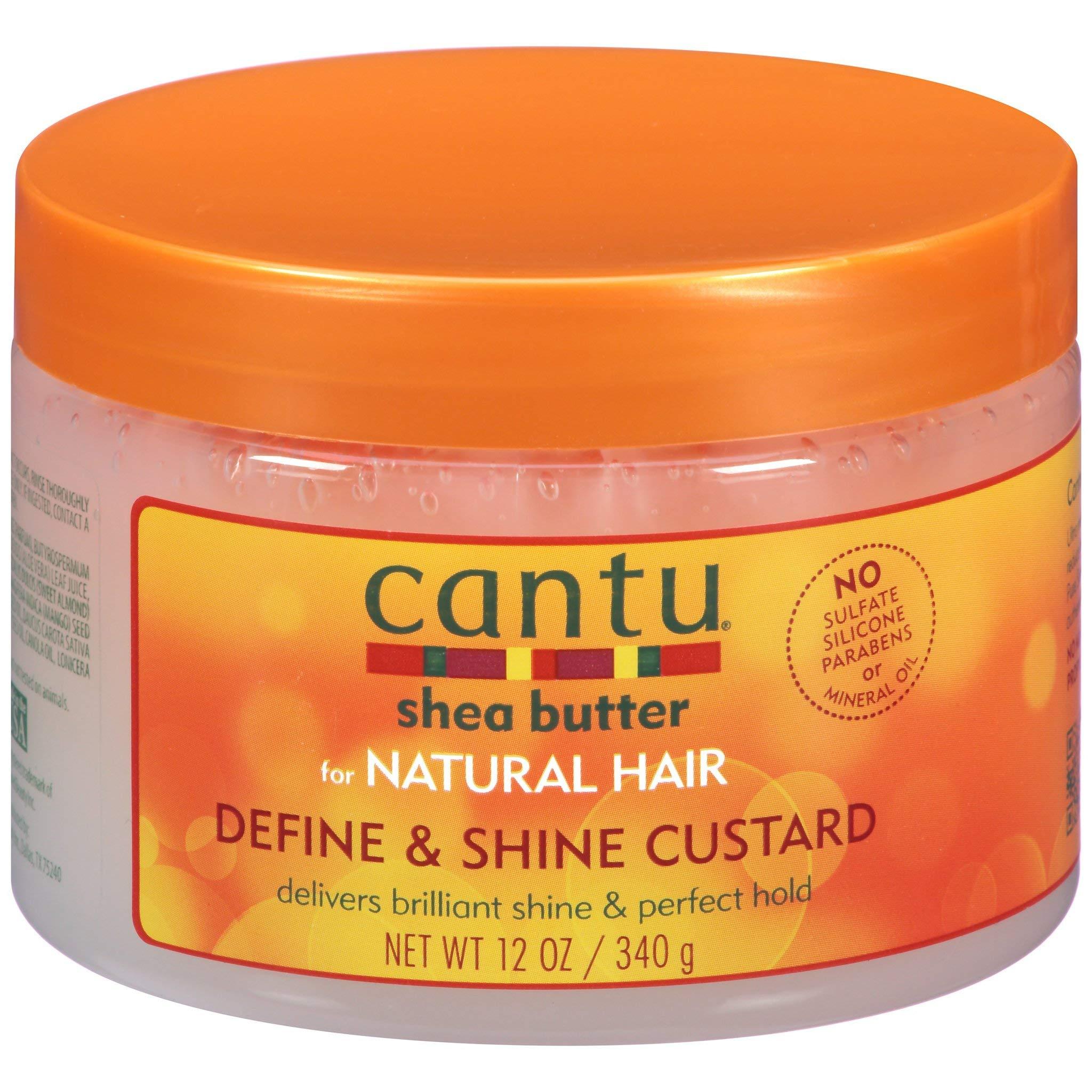 Shea Butter for Natural Hair Curling Custard, 12 Ounce