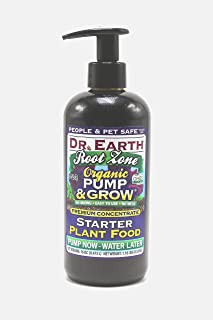 product image for Dr. Earth 1063 Organic & Natural Pump & Grow Root Zone Plant Food 8 oz, Purple