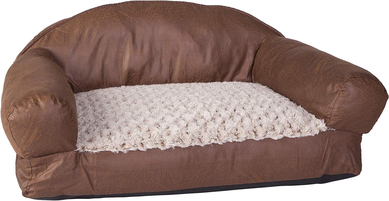 Amazon.com: Dallas Manufacturing Co. sofá cama de piel ...