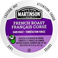 24-Count Martinson Single Serve Coffee Capsules French Roast