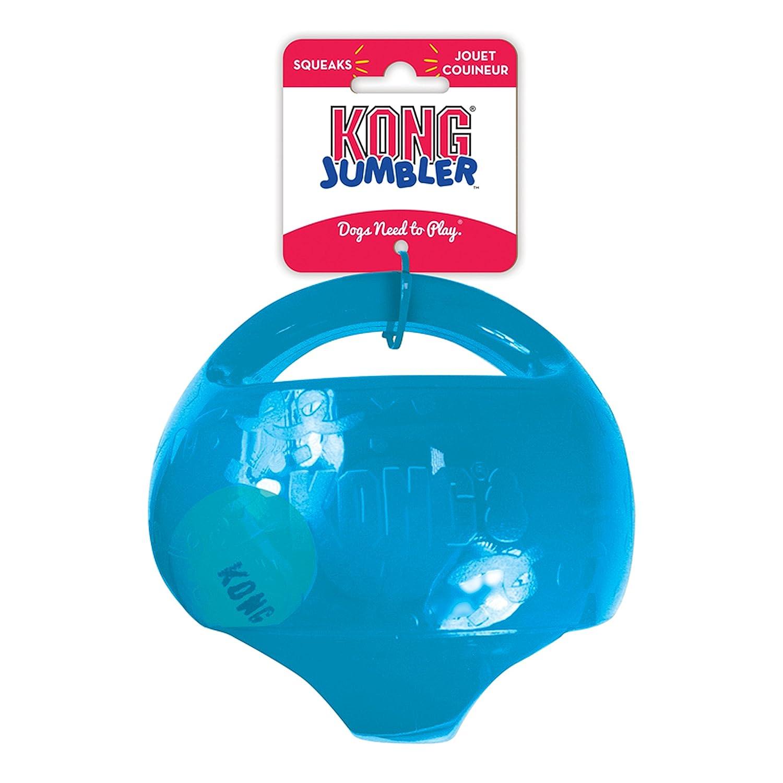 KONG - JumblerTM Ball - Juguete con pelota de tenis - Raza grande ...