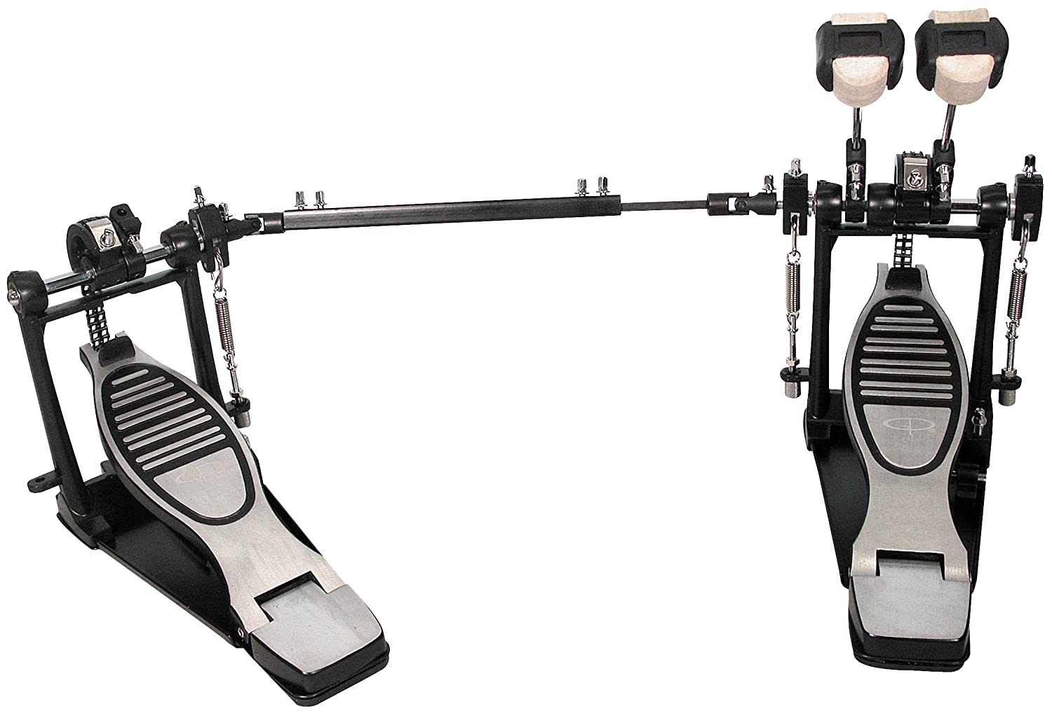 GP Percussion DP778TN Pro Quality Double Drum Pedal M & M Merchandisers Inc