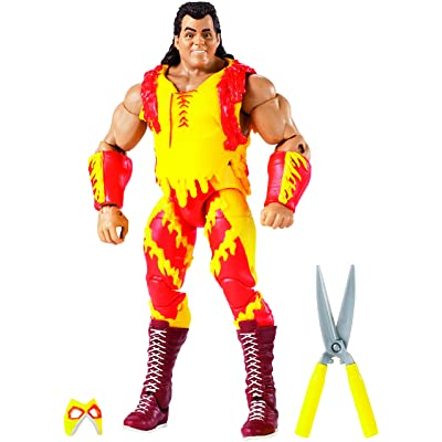 WWE Wrestlemania Elite Brutus Beefcake Figure: Toys & Games [5Bkhe0407053]