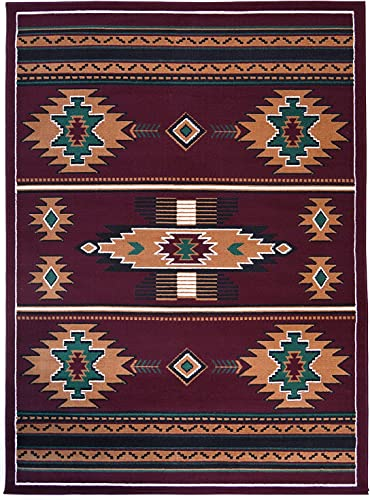 Rugs 4 Less Collection Southwest Native American Indian Area Rug Design