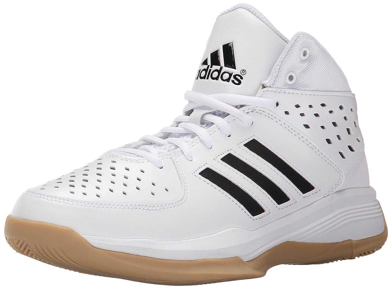 adidas performance corte fury basketball scarpa, bianco / nero / gomma,