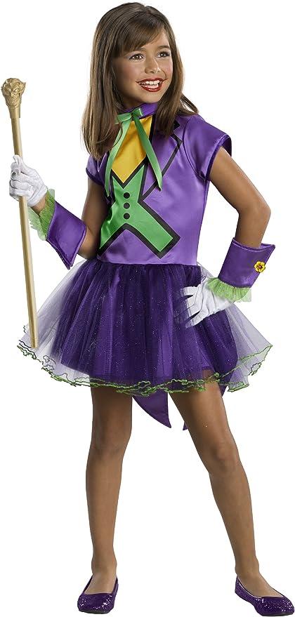 Disfraz de Joker tutú para niña - 3-4 años: Amazon.es: Juguetes y ...