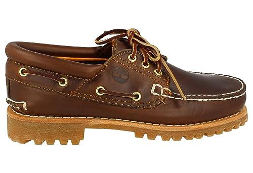 Timberland 3 Eye Classic Lug, Mocasines para Hombre: Amazon.es: Zapatos y complementos