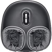 Nekteck Shiatsu máquina masajeador de pies con calor calmante, terapia de amasado profundo, compresión de aire, alivia…