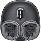 Nekteck Shiatsu Foot Massager Machine with Soothing Heat, Deep Kneading Therapy, Air Compression, Relieve Foot Pain and Impro