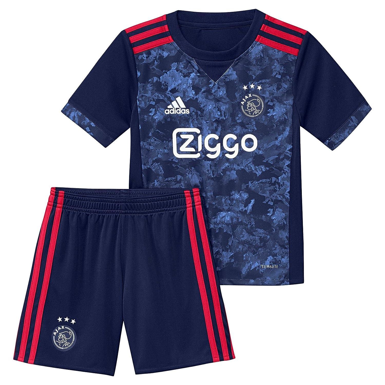 Azul Niños Ajax 2018 Adidas 2017 Mini 2ª A Camiseta Equipación Ovv48Bzqx