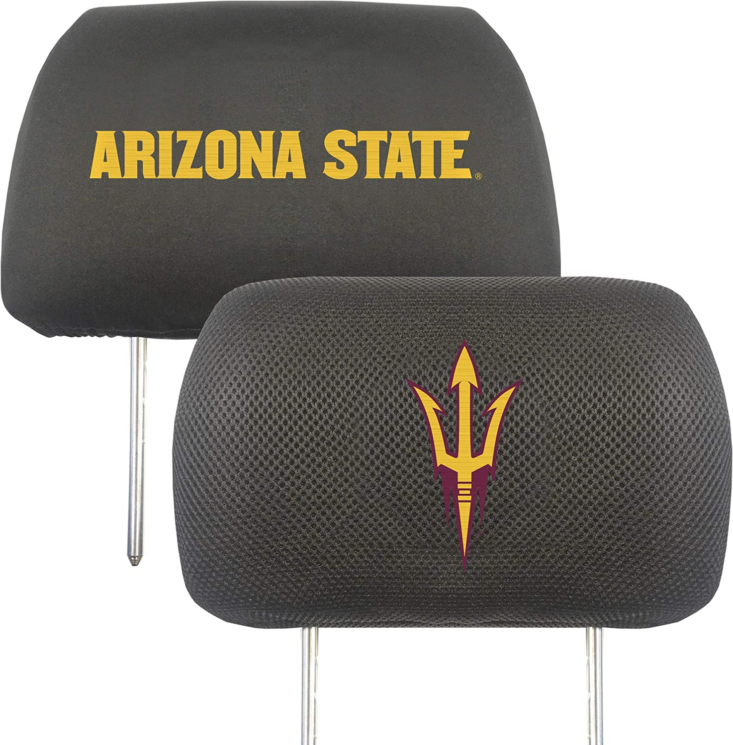 FANMATS NCAA Unisex-Adult Auto Headrest Covers