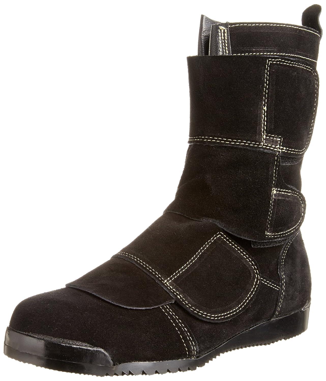 ノサックス 溶接用安全靴 KT207 マジック式 ブーツタイプ JIS T8101 革製S種(普通作業用)