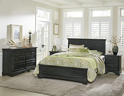 Amazon Com Inspired By Bassett Farmhouse Basics Queen Bedroom Set