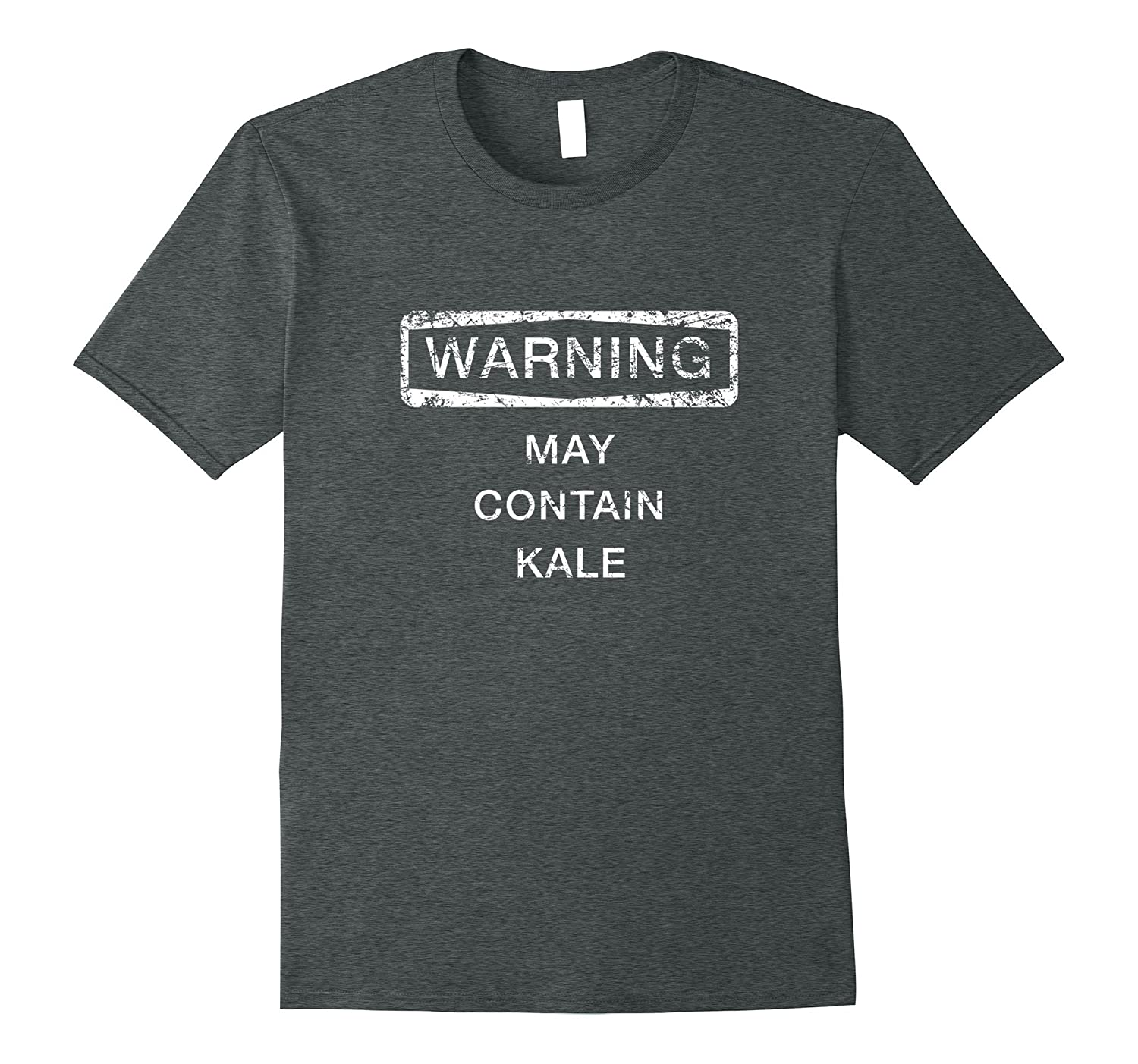 Warning May Contain Kale Shirt Funny Cute Gift-CD
