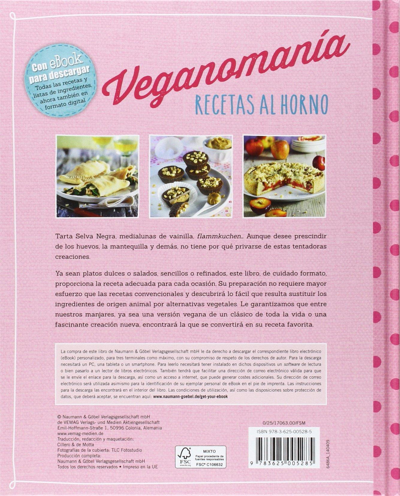 Recetas Al Horno (Veganomanía): Amazon.es: Vv.Aa.: Libros