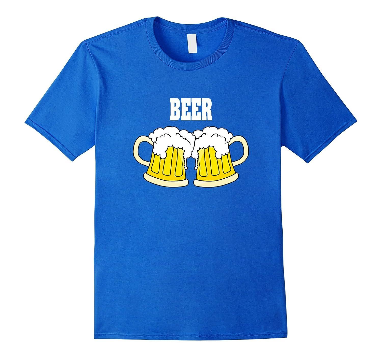 Beer Couples Halloween Costume T-shirt Pizza & Beer