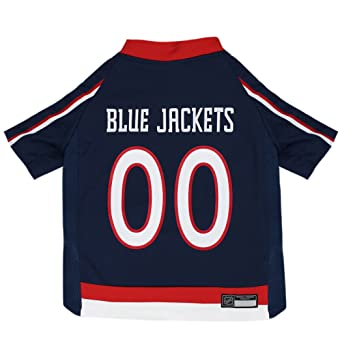Buy NHL Columbus Blue Jackets Jersey for Dogs   Cats de9665259