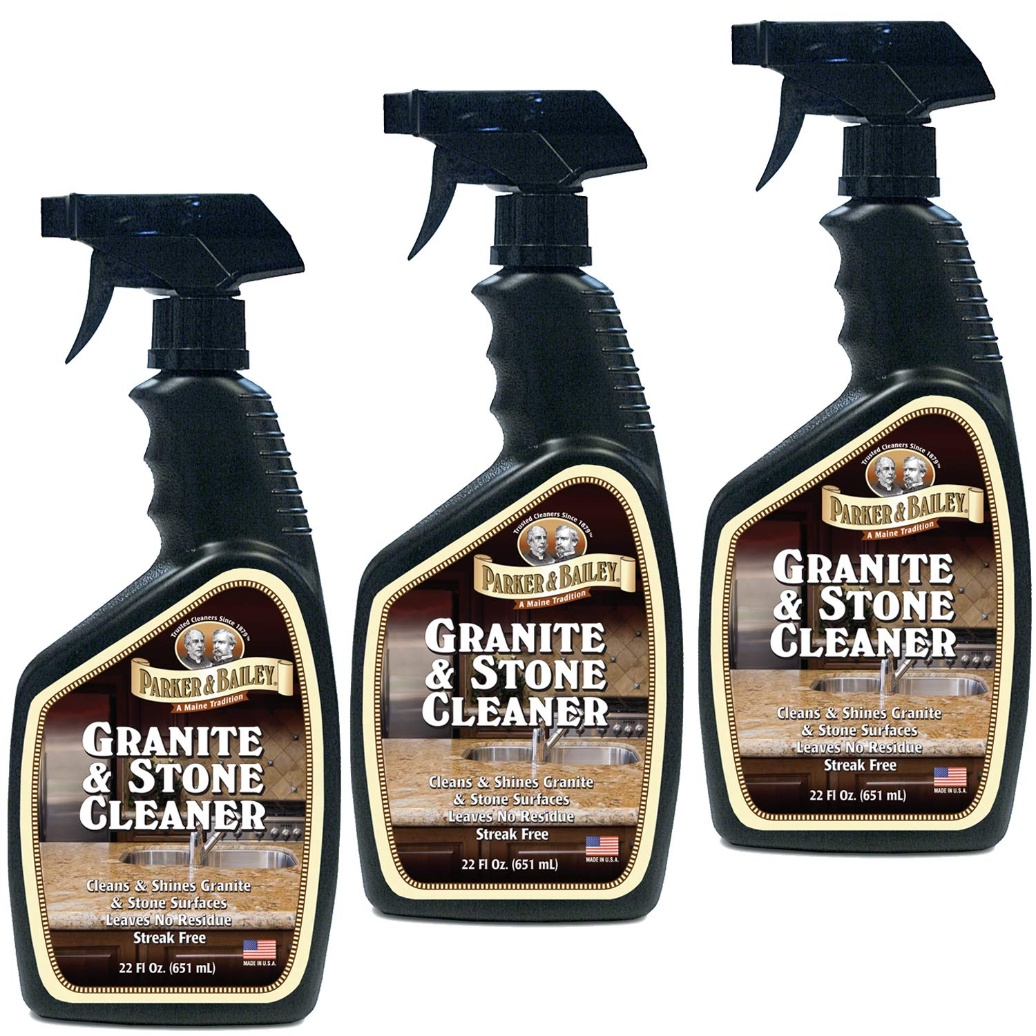 Parker Bailey Granite & Stone Cleaner (Seventy-two Ounce) by Parker & Bailey