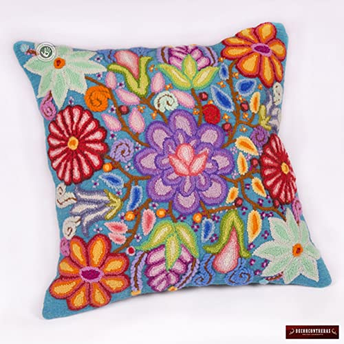 Amazon Peruvian Pillow Cover 40x40 Embroidered Pillow Cases Awesome Peruvian Decorative Pillows