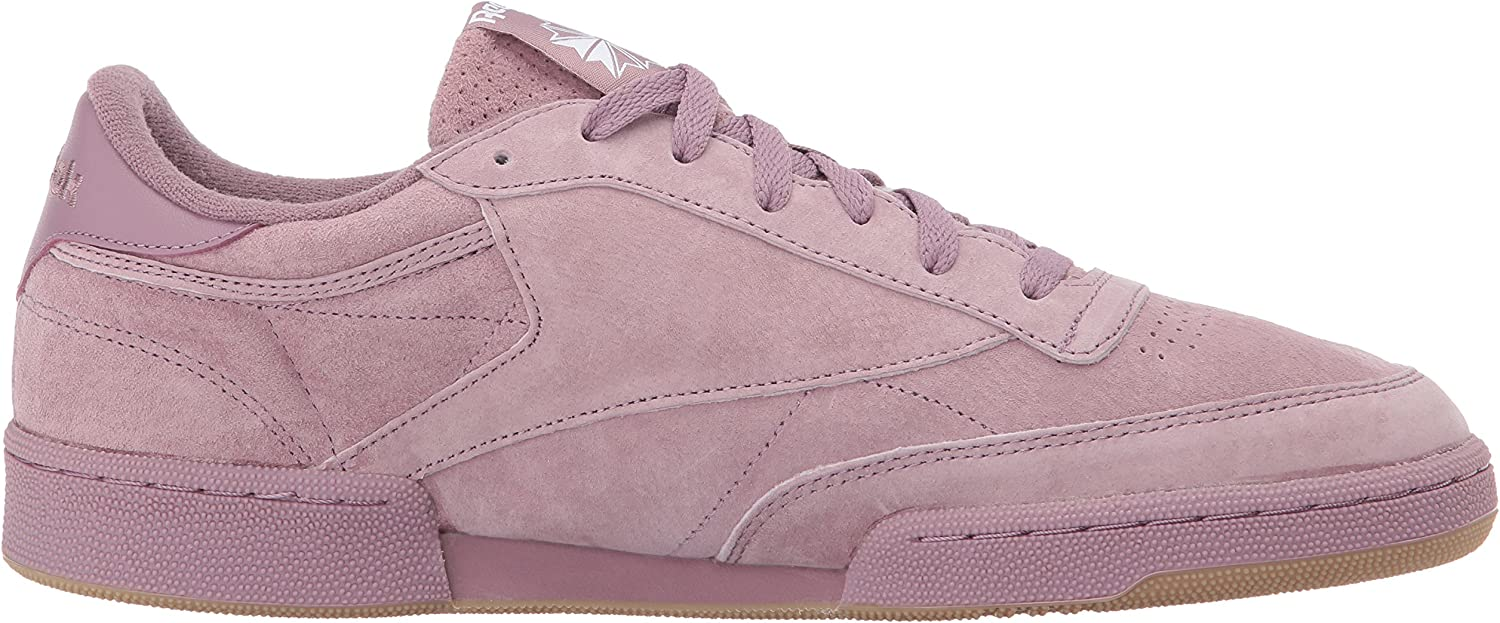 Reebok Men's Club C 85 SG Fashion Sneaker Smoky Orchid/White Gum