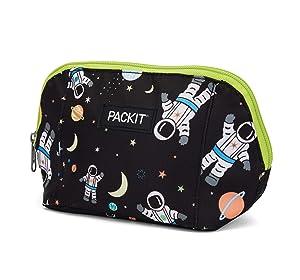 PackIt AMZ-SN-SPA Freezable Snack Bag, Spaceman