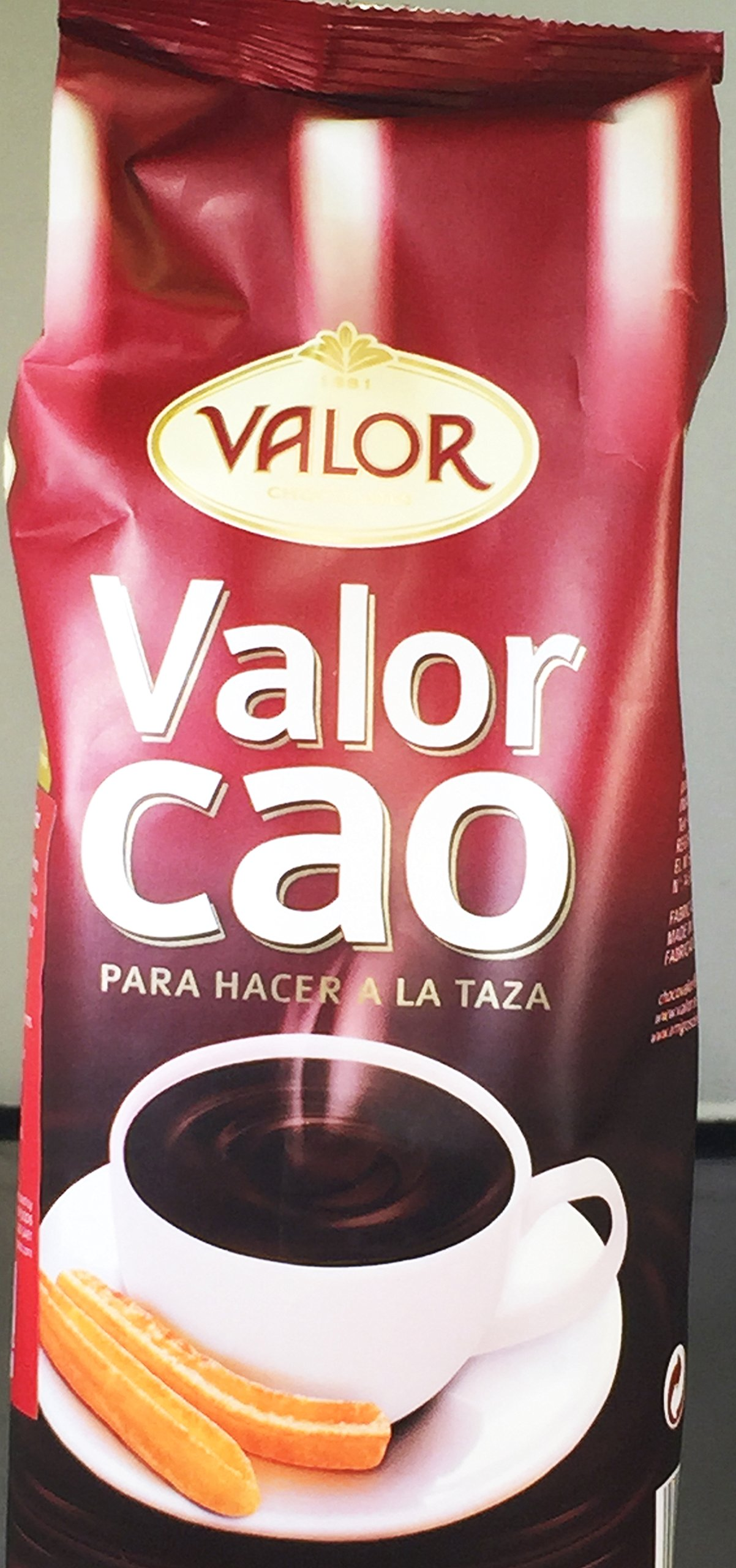 Valor Chocolate a la Taza Powder from Spain (500g/17.5oz)