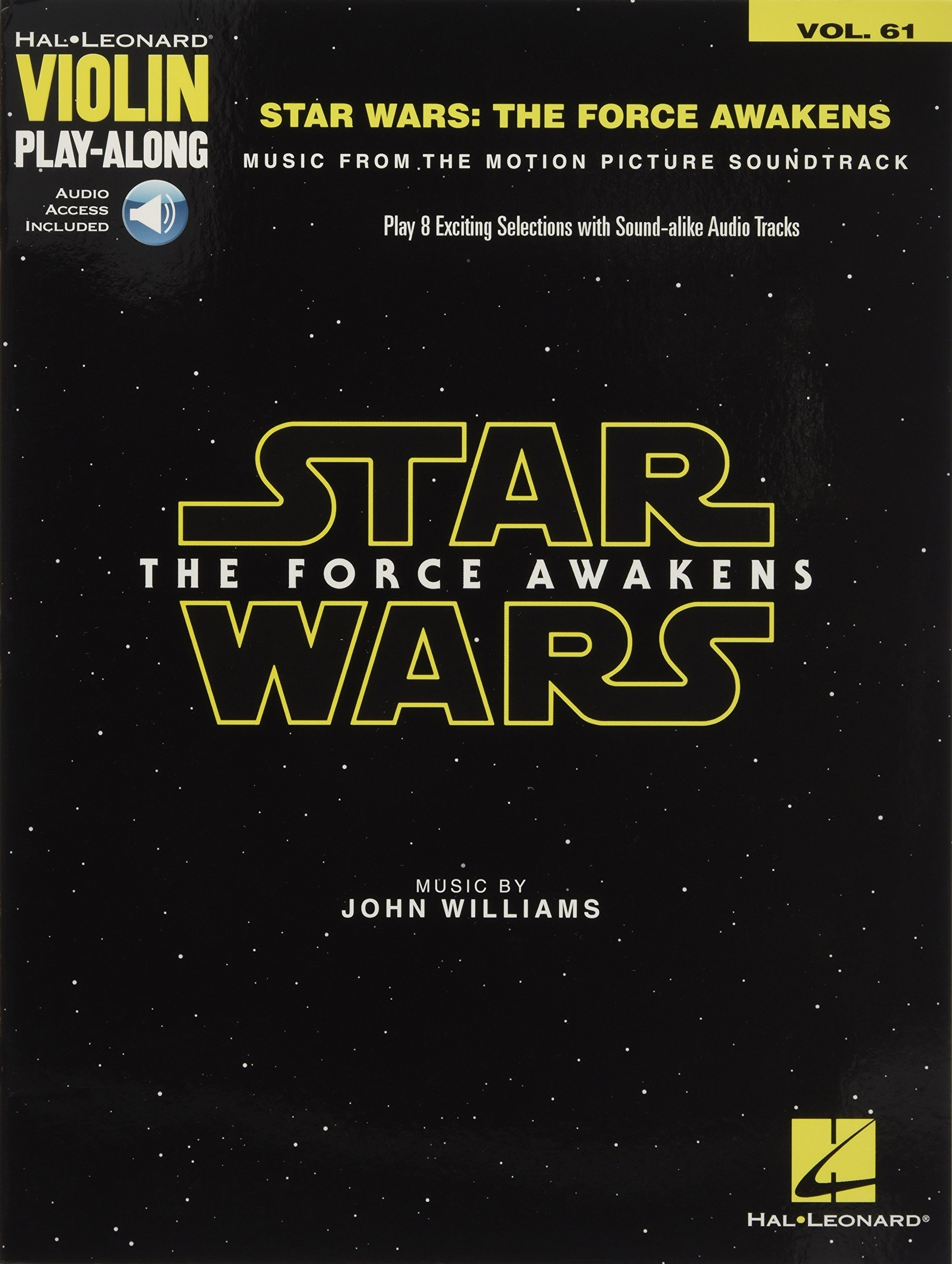 Star Wars: The Force Awakens: Violin Play-Along Volume 61 ebook