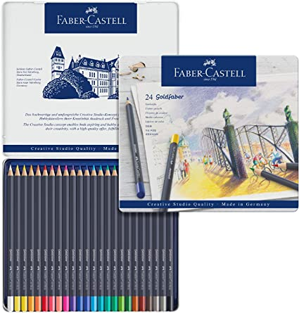 Faber Castell Polychromos Color Pencil Set Free Ship Tin of 120 New