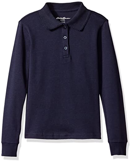 a96c47ef7 Amazon.com  Eddie Bauer Girls  Polo Shirt (More Styles Available ...