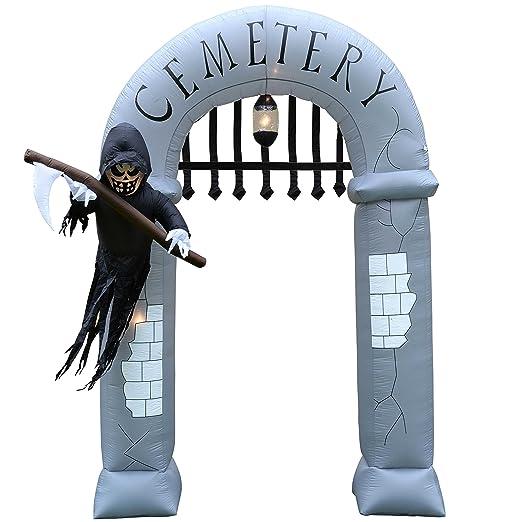 WeRChristmas - Figura de Halloween Hinchable con Luces y ...