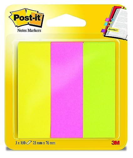 Post-It FT-5101-1476-0 - Notas autoadhesivas - Neón amarillo