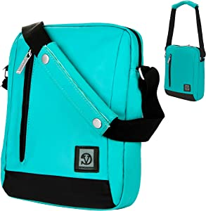 eBigValue Durable Nylon Lightweight Compact Messenger Bag for Acer Iconia Tab 10 A3 A20, Iconia Tab 8 A1 840