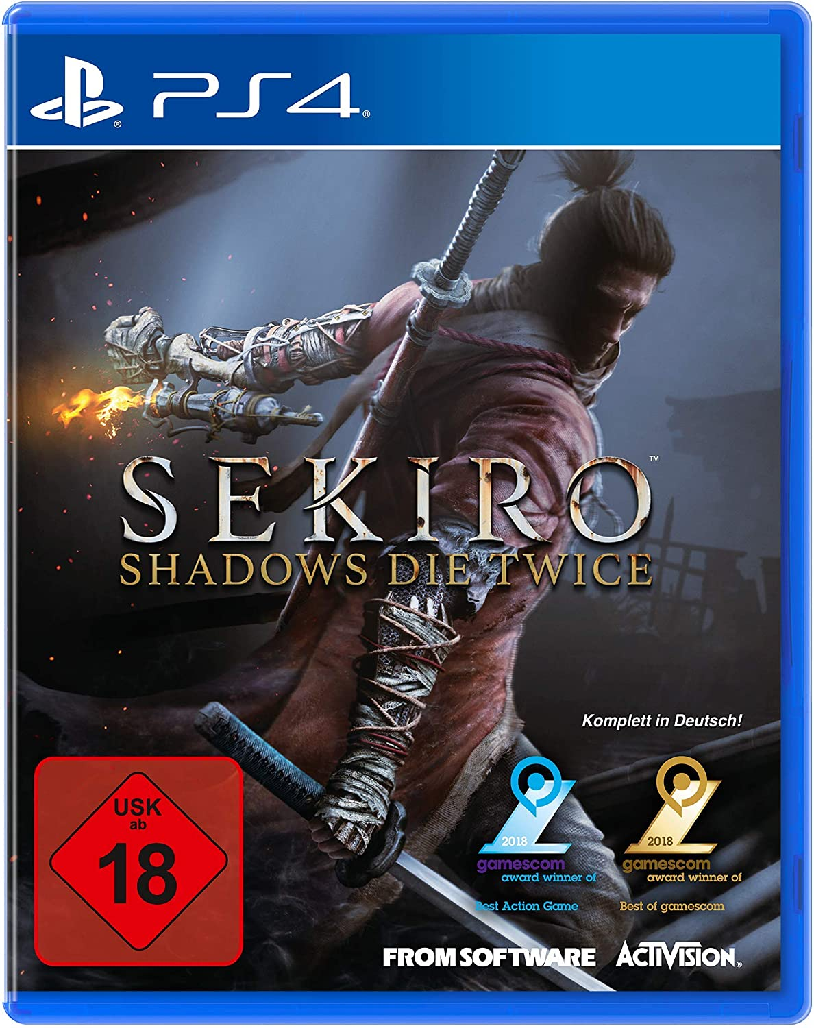 SEKIRO - Shadows Die Twice - PlayStation 4 [Importación alemana ...