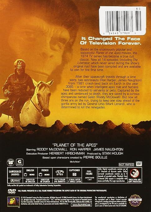 Planet of the Apes: TV Series [Reino Unido] [DVD]: Amazon.es ...