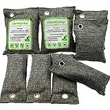 ENVEL Luftrenare väska, bambu kol natur frisk luftrenare väska naturlig luftfräschare väskor, aktiverad kollukt…