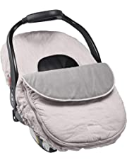 JJ Cole Baby Car Seat Cover, Grey Herringbone