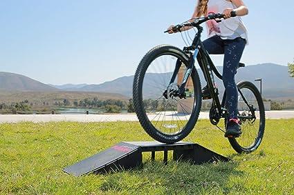 8581d9bce698 Amazon.com : Scooter BMX Bike RC Car Ramp - Kids Starter Launch Mini ...