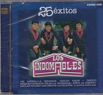 Los Indomables - 25 Exitos: Los Indomables - Amazon.com Music