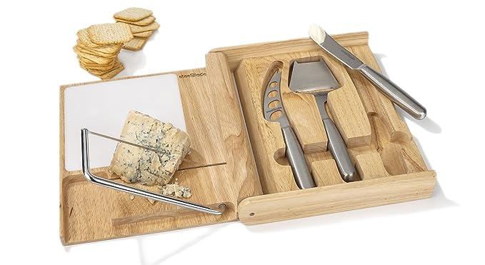 Compra Estuche Set de Cuchillos para Queso y Lira Steelblade ...