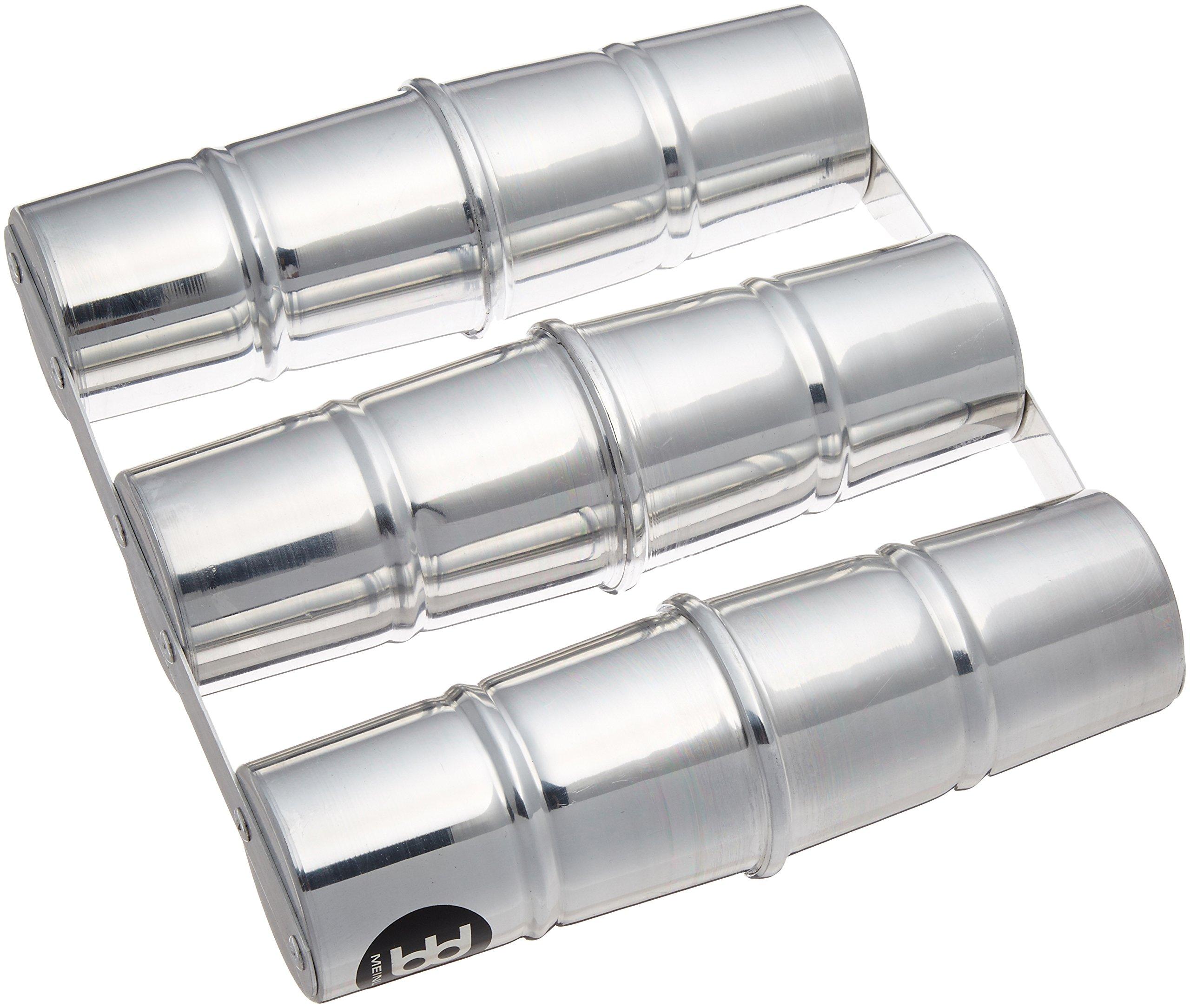 Meinl Percussion SSH3-S Aluminum Triple Samba Shaker, Small by Meinl Percussion