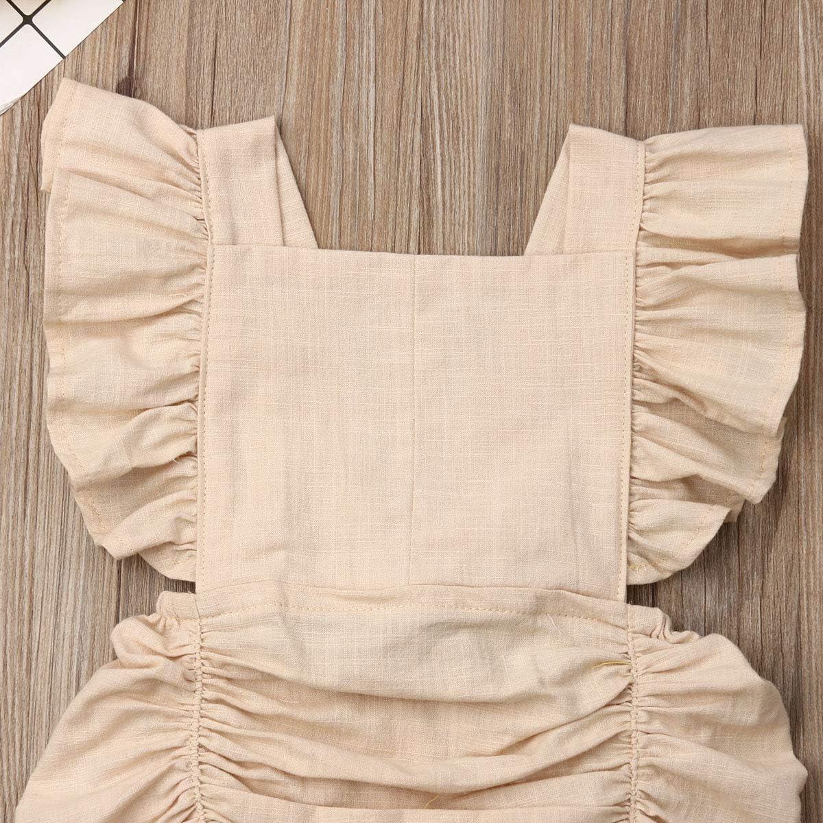 Newborn Shower Clothes Straps Cross Bodysuit One Piece Sleepwear FAROOT Muslin Baby Romper Outfit Bubble Playsuit Suit
