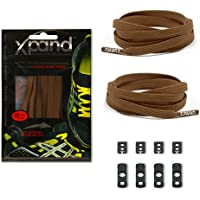 Xpand No Tie Shoelace System with Elastic Laces One Size Fits All Adult and Kids